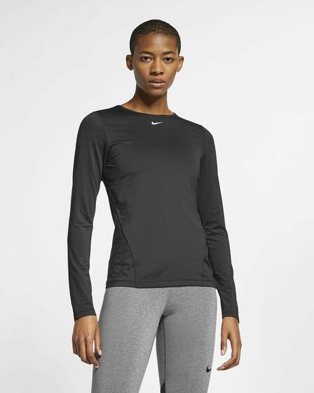 Nike - Pro Top Longsleeve All Over Mesh